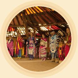 DanceLodge, Show Aréna, indiáni