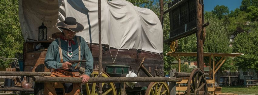 Výprava za indiány a kovboji